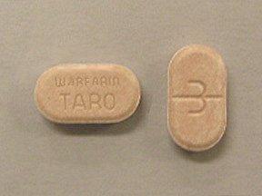 Warfarin Sodium 3 Mg Tabs 1000 By Taro Pharma.