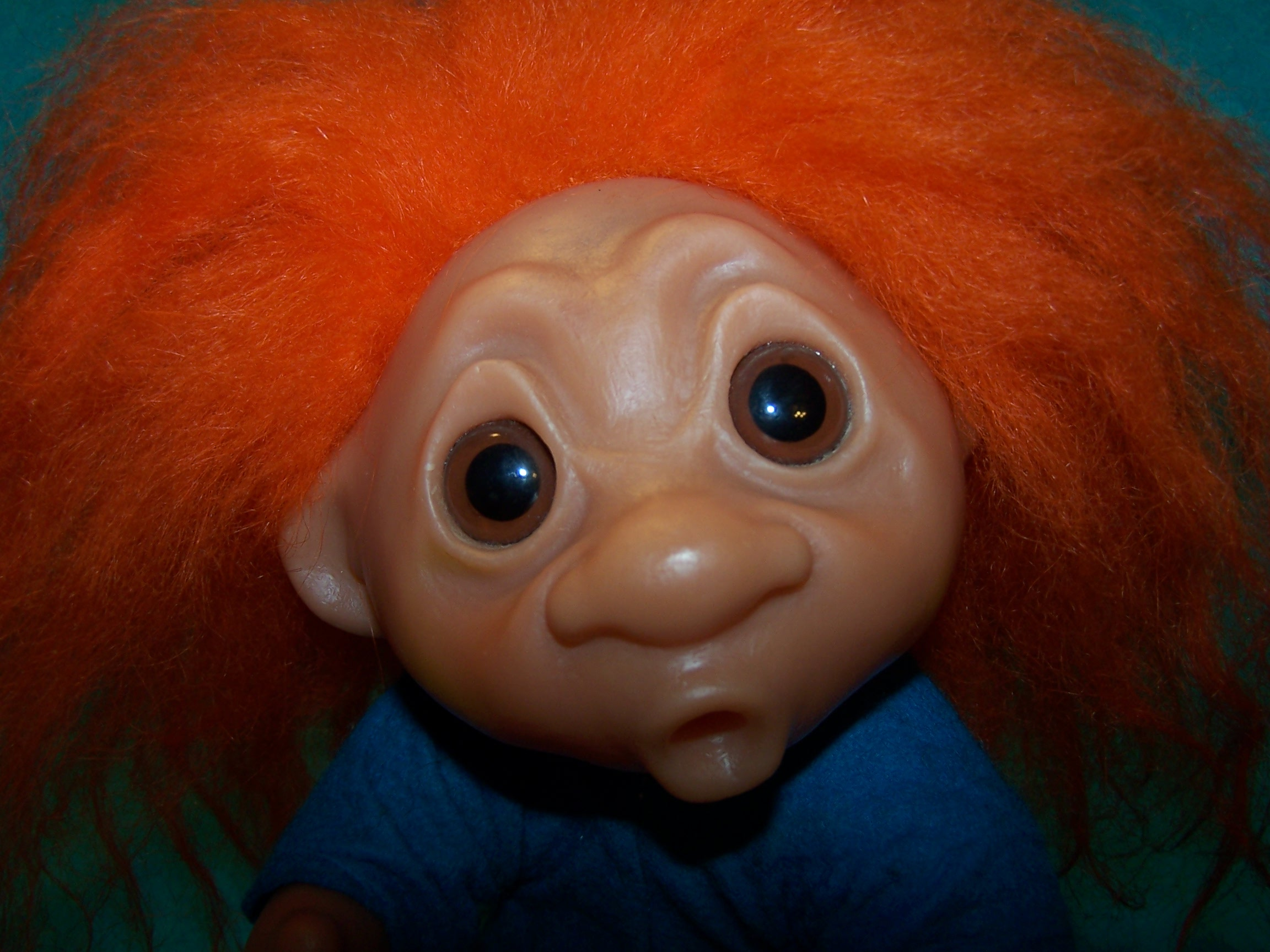 Norfin Troll Doll Heather Denmark 1977 Orig Tag