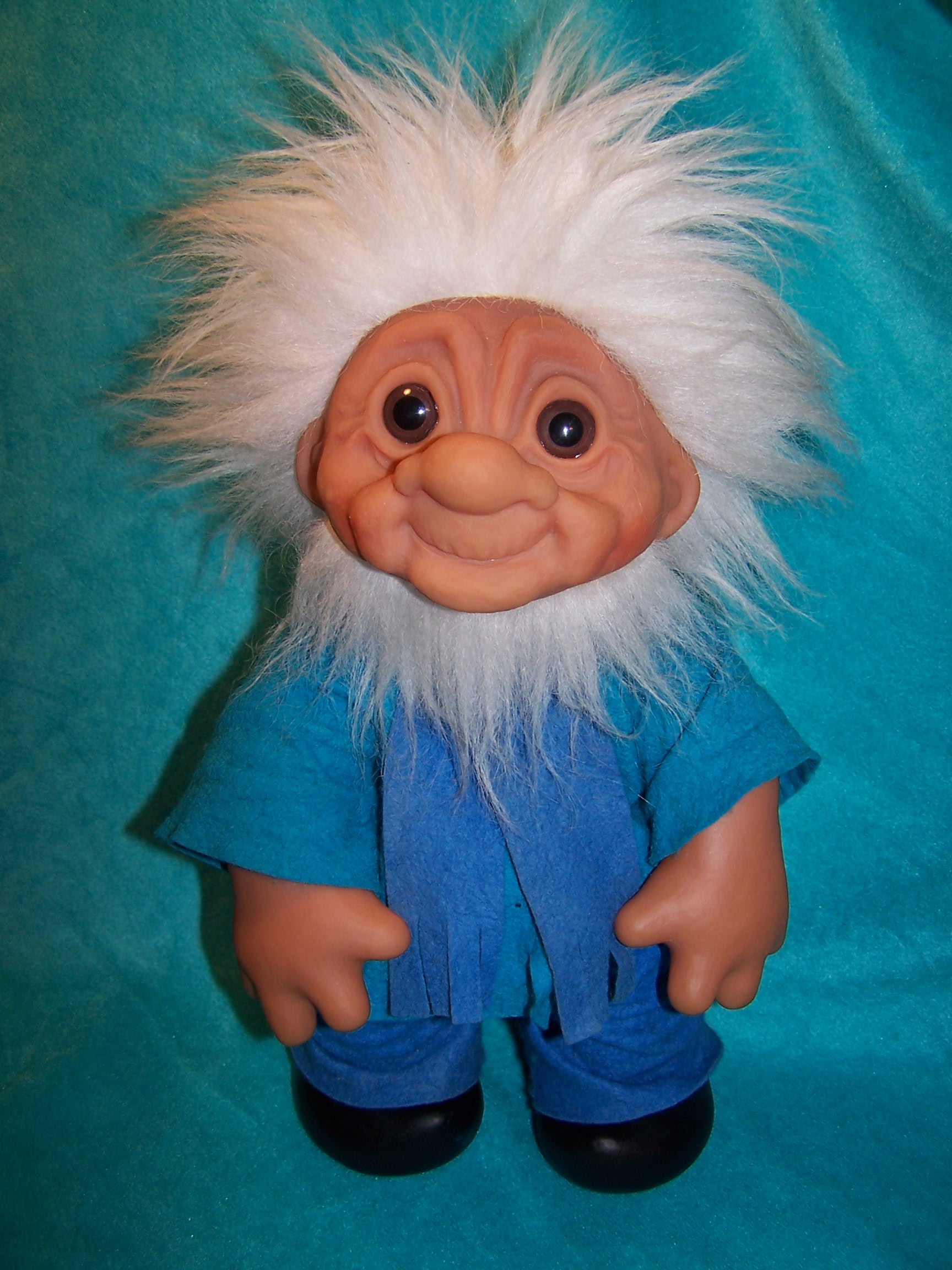 wooden play kitchen splash guard sink norfin troll doll grandpa, thomas dam, 1977 denmark