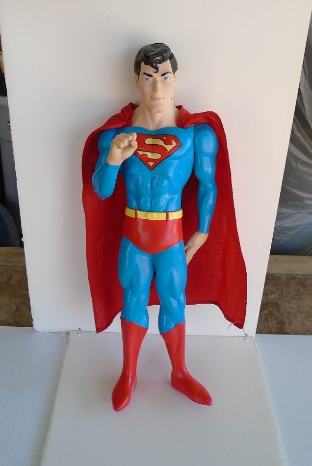 Superman Doll. 15 inch. 1988 DC Comics. Rare