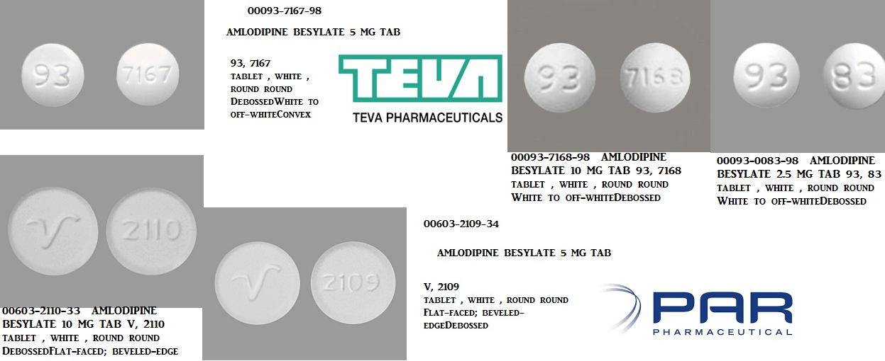 RX ITEM-Amlodipine Besylate 2.5mg 90 Tab by Cipla Pharma