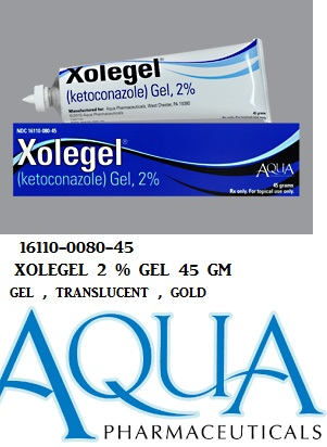 Xolegel 2% Gel 45gm by Aqua Pharma