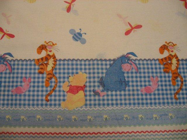 Disney Winnie the Pooh Tigger Piglet Eeyore Border Print