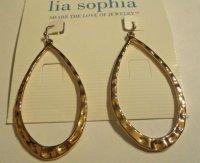 SWOON Retired lia sophia hoop earrings