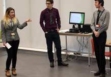 Business Students Pitch at Dragons' Den style event