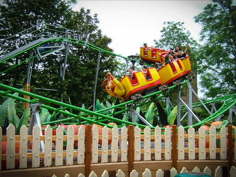 Roller coaster - Junior coaster - Mirabilandia