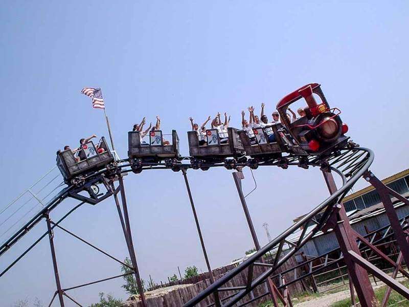Roller coaster - Junior coaster - Downhill