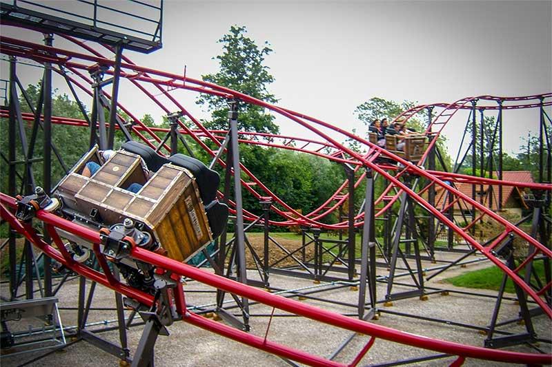 Roller coaster - Double coaster - Nitro