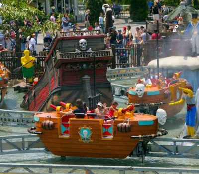 Splash battle - Rail - Legoland