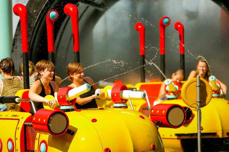 Splash battle - Rail - Walibi