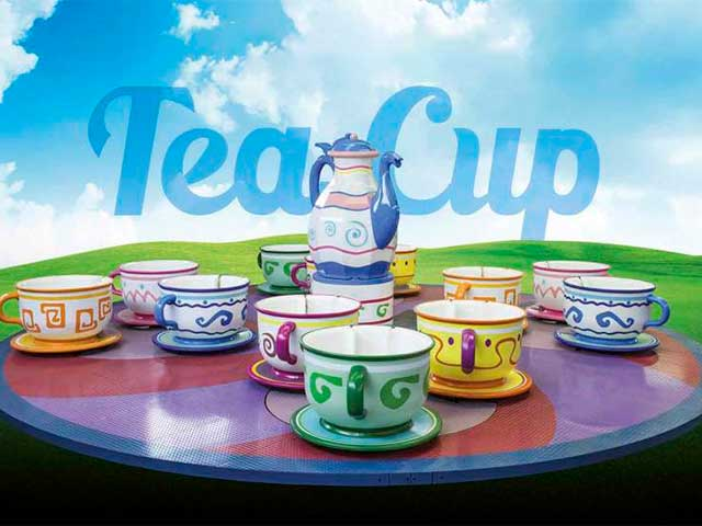 Crazy cups - Tea cup