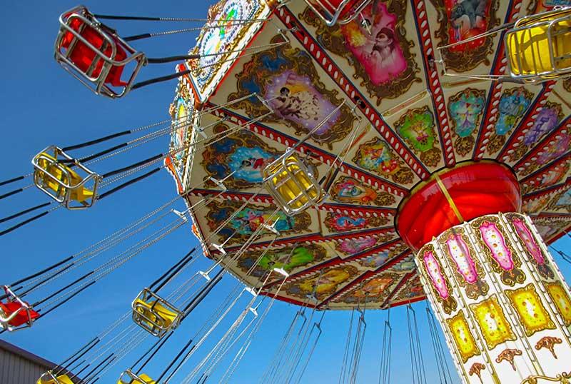 Flying swinger - Family ride