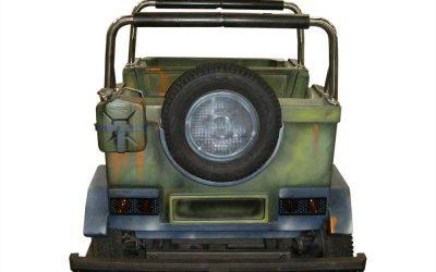 Safari car - Vehicle - Back