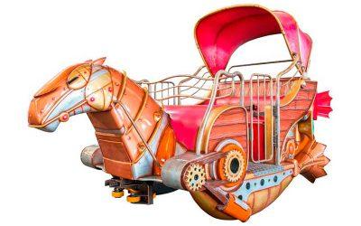 Monorail - Vehicle - 3 seat
