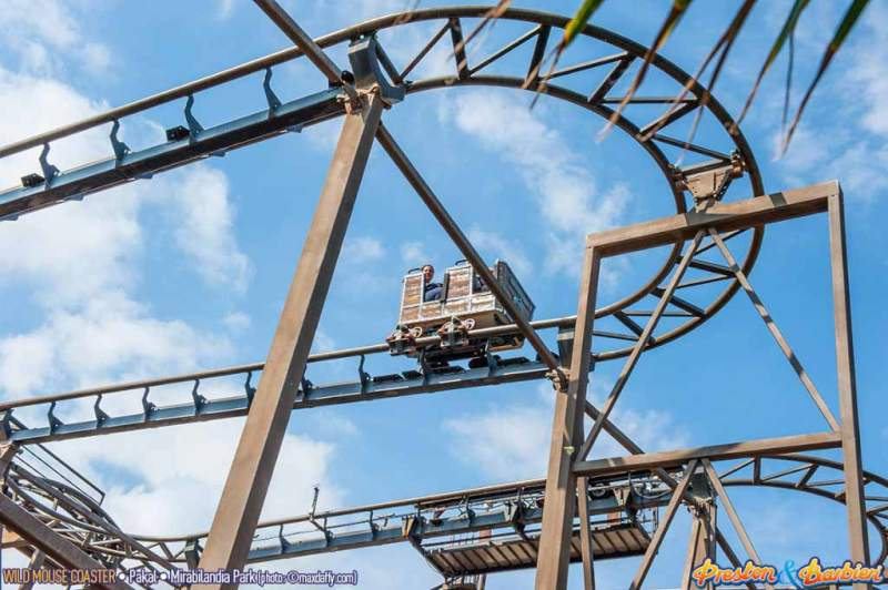 Roller coaster - Wild Mouse