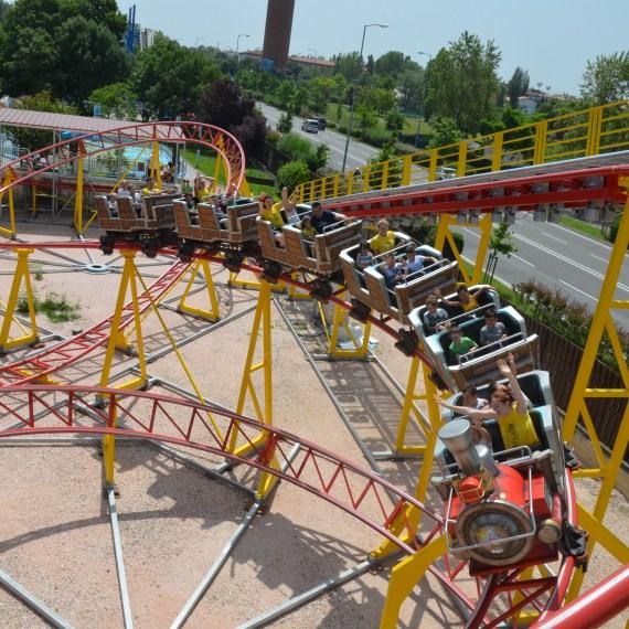 Coaster Fiabilandia Red Mountain 2