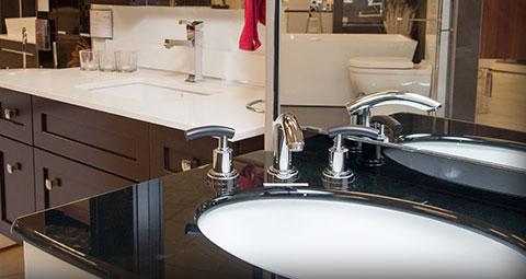 kitchen and bath design center alder cabinets bathroom store preston photo of a sink at hardware s centre in ottawa