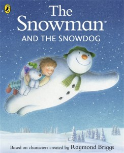 the snowman and the snowdog, the snowman, raymond briggs
