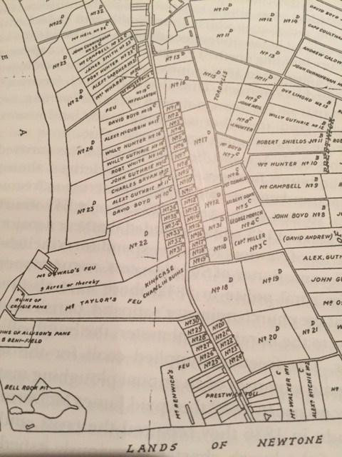 Prestwick Toll - 1814 Map