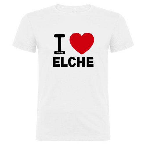 Camiseta love Elche