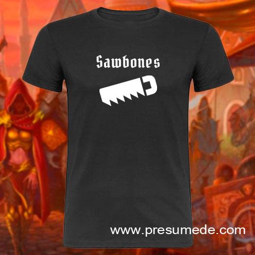 Camiseta Gloomhaven Sawbones
