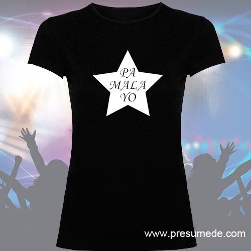 Camiseta estrella pa mala yo