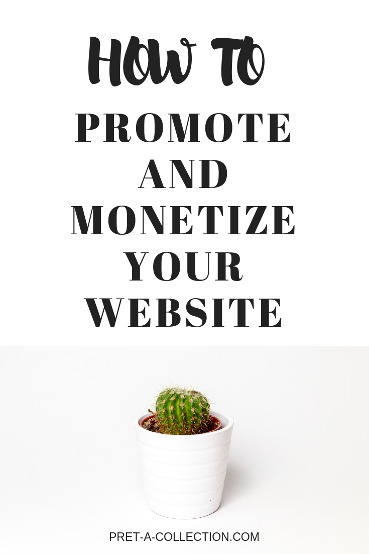 How to promote and monetize your website
