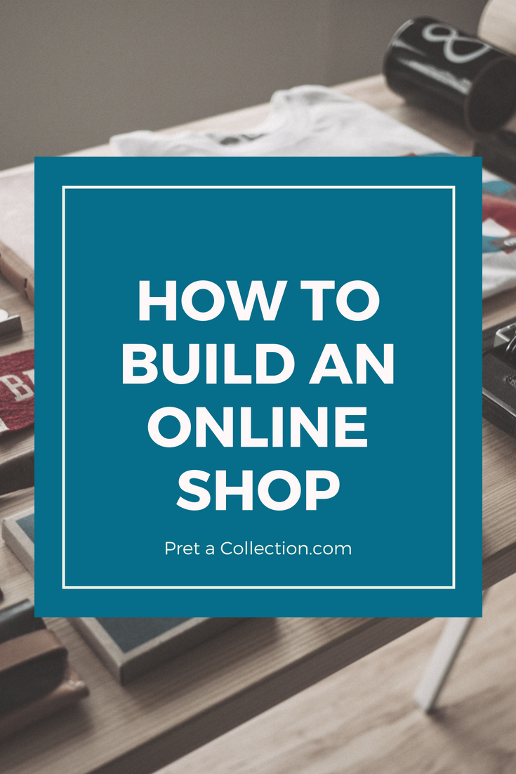 How to build an online shop