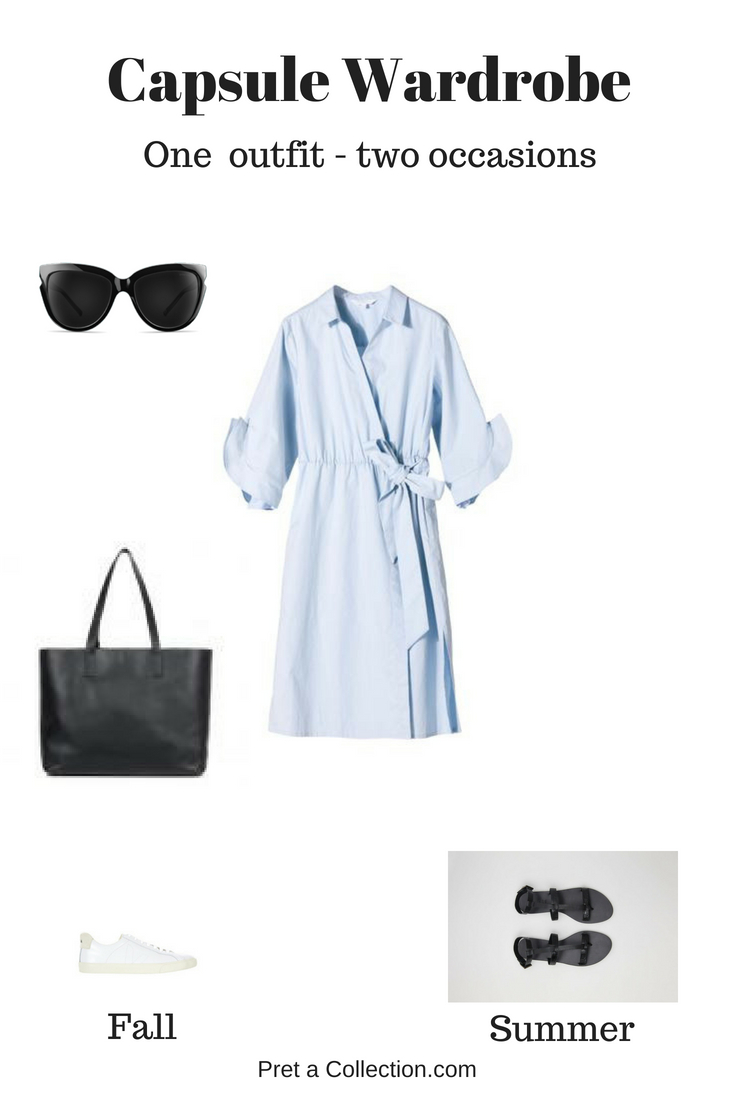 How to wear a dress for weekend and for work