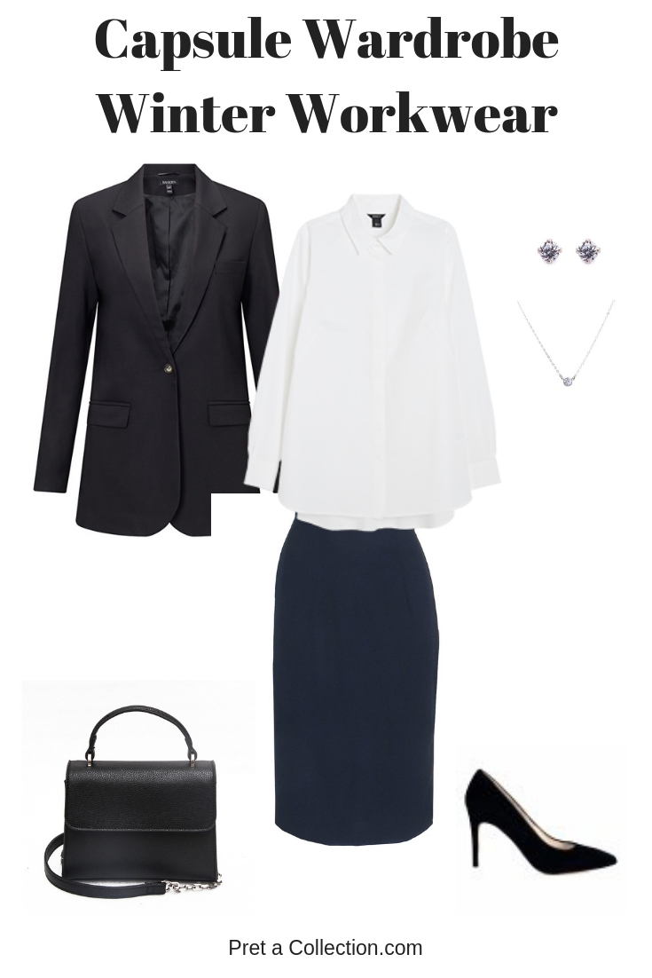 Workwear Capsule Wardrobe