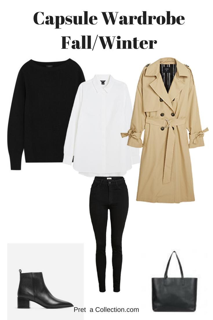 Capsule Wardrobe Fall/Winter