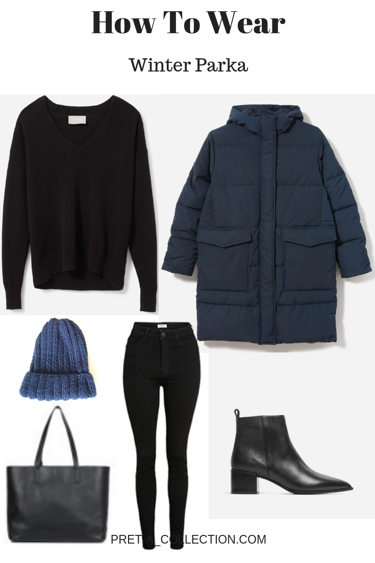 How to style Winter Parka