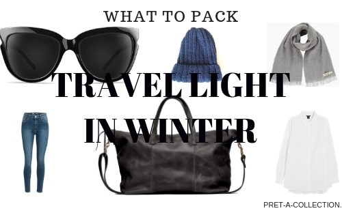 Travel light in Winter