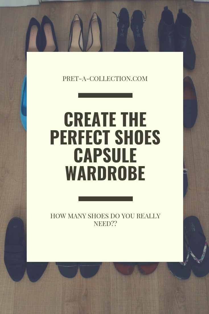 Capsule Wardrobe- Shoes