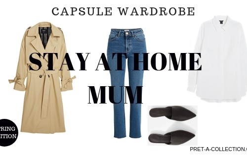 Capsule wardrobe for stay at home mum