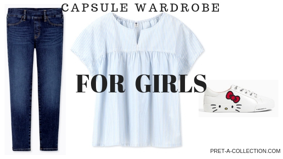 Capsule wardrobe for girls