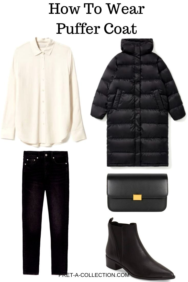 How to wear Puffer Coat