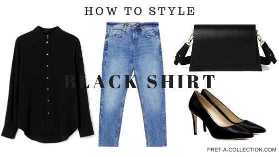 How to style black shirt