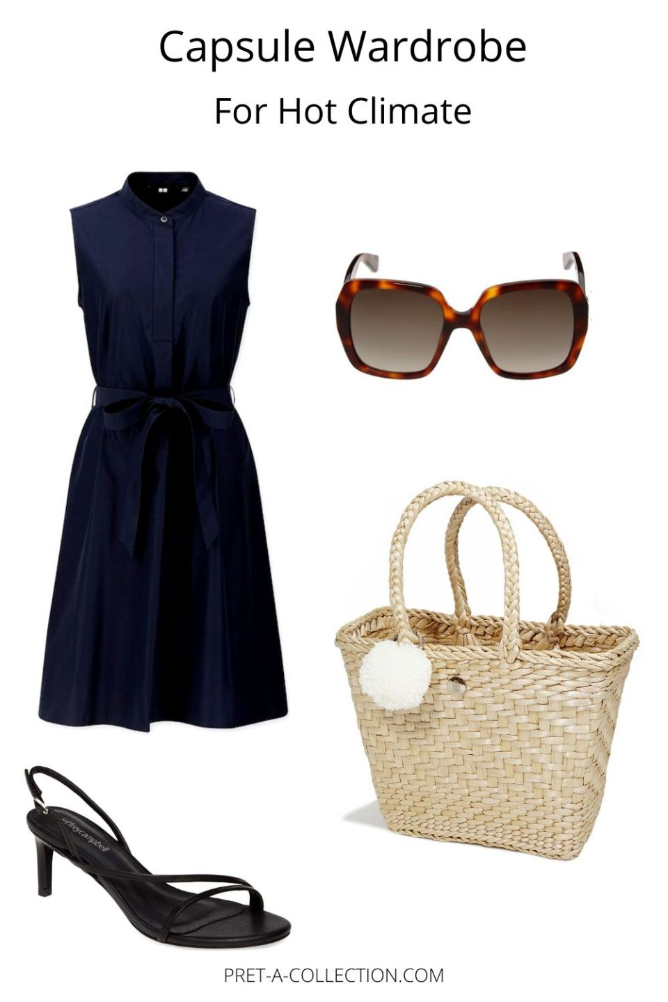 Capsule Wardrobe for hot climate