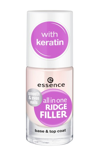 essence all in one ridge filler base & top coat