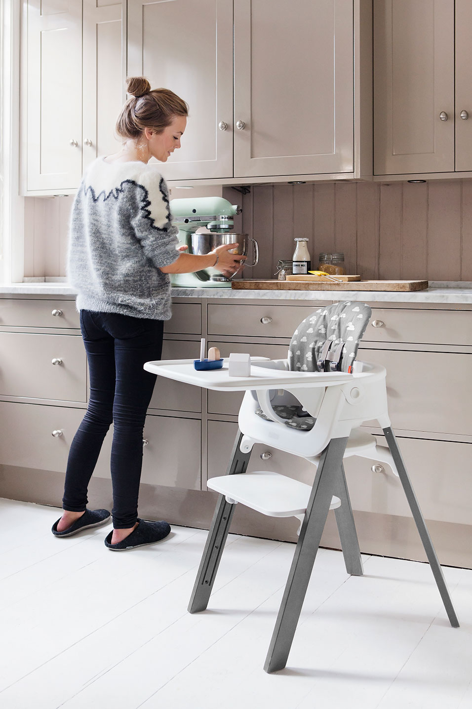 Stokke launches their Steps soft cushioned Bouncer in
