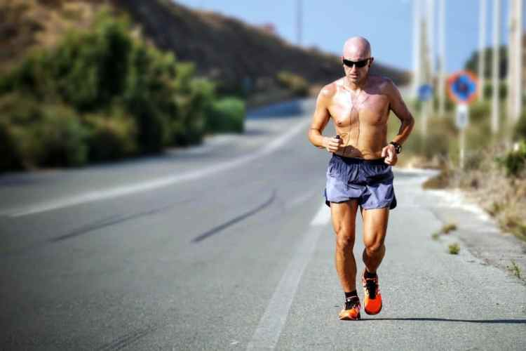 How much exercise you need running older