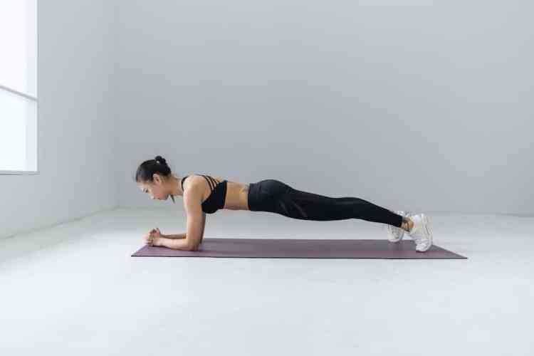 The 5 best exercises to work all your body plank