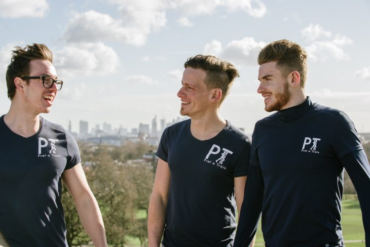 Team of personal trainers in London
