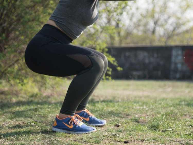 The 5 best exercises to work out all your body parts squats