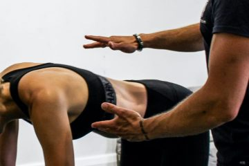 releave back pain with a personal trainer