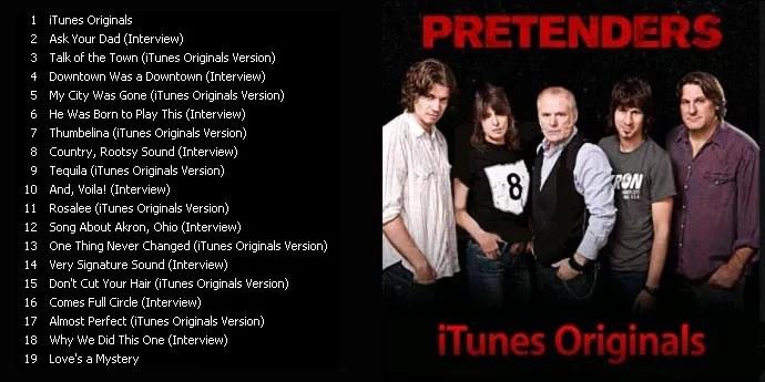 pretetenders radio shows