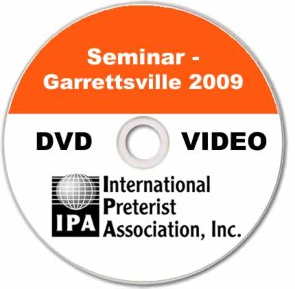 Seminar - Garrettsville 2009 (4 DVDs)