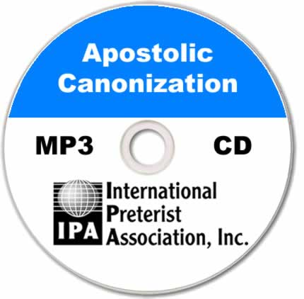 Apostolic Canonization (5 tracks)