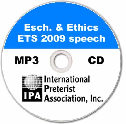 Eschatology & Ethics - ETS (1 track)